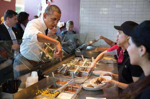 Obama chipotle
